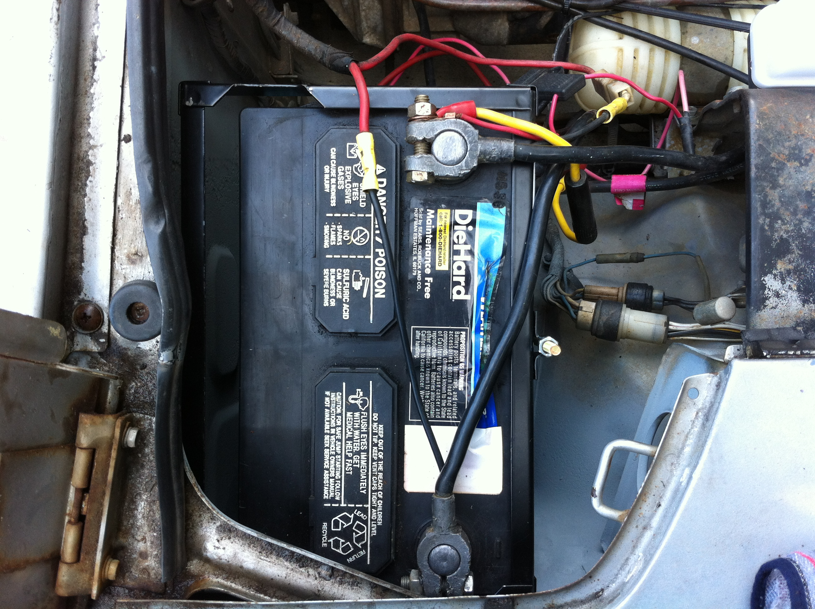 ... and will replace the bungee cord nicely. My only compliant would be the  sizing of the battery frame (as seen below); it's just too big and not fit  for a ...