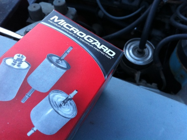 Datsun 280z fuel filter