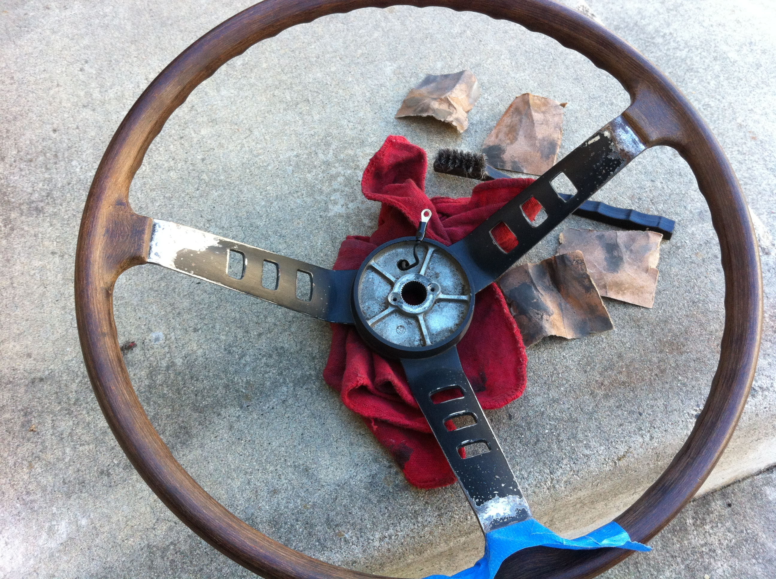 240z Steering Wheel Refurbished Part 1 The Daily Datsun