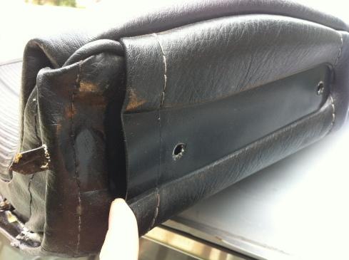 1977 280z seat - seat arm pocket