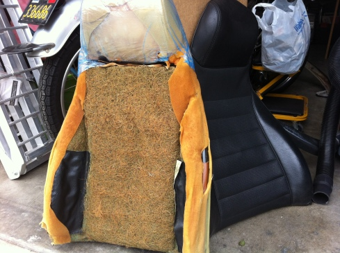 1977 280z seat - uncovered