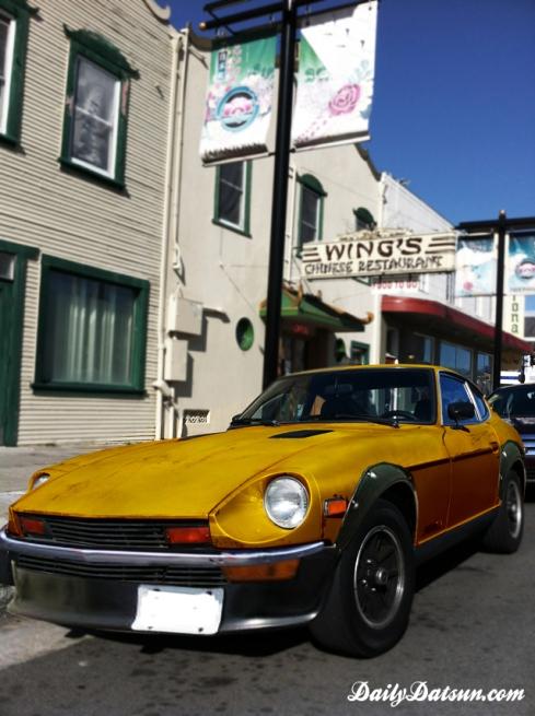 Datsun 280z Butterscotch Blonde - DailyDatsun.com