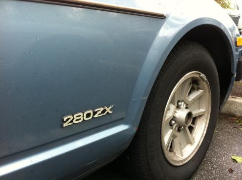 Nissan Datsun 280zx 2+2 wheel