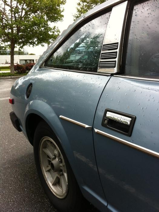 Nissan Datsun 280zx 2+2 rear quarter
