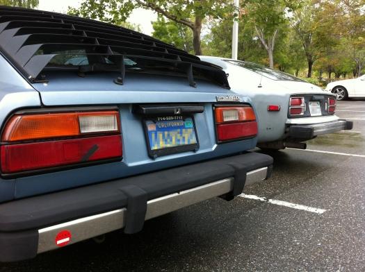 datsun 280z 280zx meet - rear