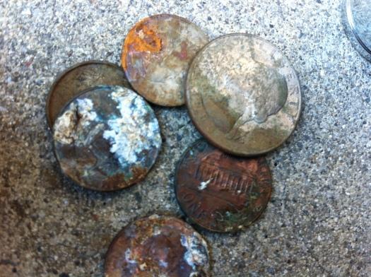 280z interior - coins