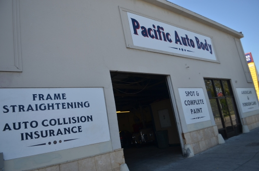 Pacific Auto Body & Paint - shop front