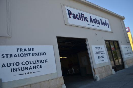 Pacific Auto Body & Paint - shop front
