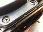 Datsun 280z seat - cover plate screw