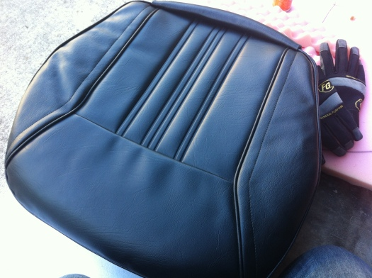 Datsun 280z seat - seat complete topside
