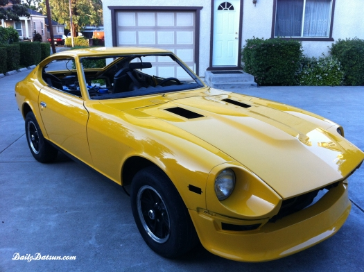 DailyDatsun 280z - fresh paint 3