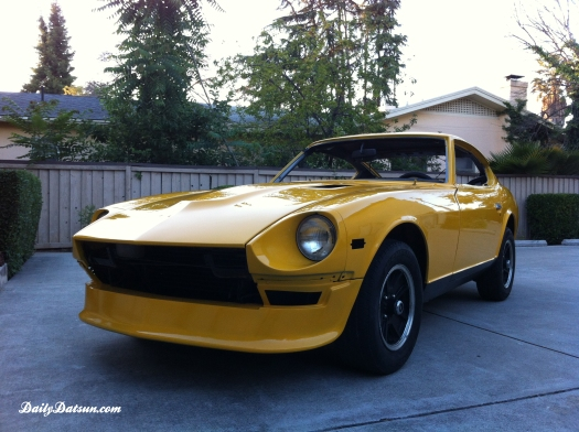 DailyDatsun 280z - fresh paint 2