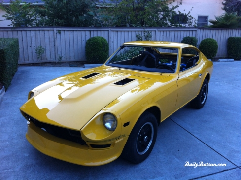DailyDatsun 280z - fresh paint