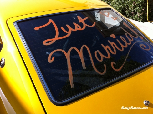 DailyDatsun 280z - Just Married