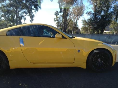Yellow 350z - Daily Datsun