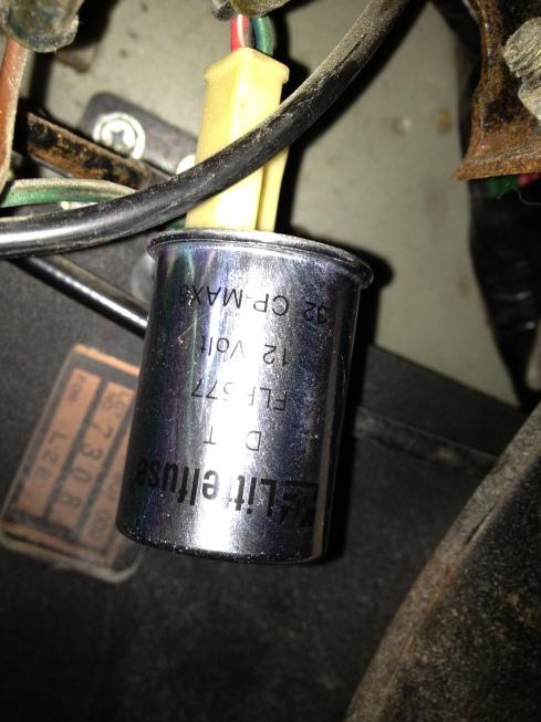 Hazard relay - Littlefuse FLR577BP - Daily Datsun