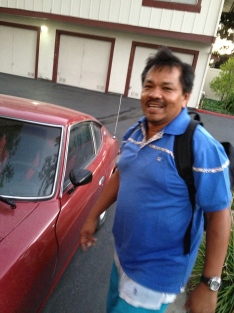 AC and his 77 280z - Daily Datsun