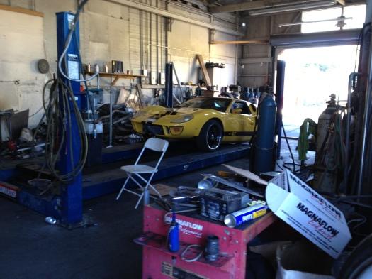 GT40 bodykit on Fiero at San Jose Mufflers - Daily Datsun
