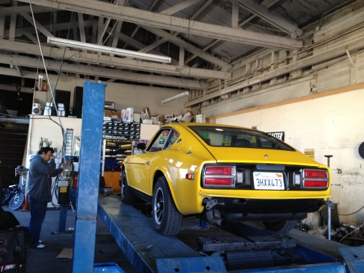 Daily Datsun at San Jose Mufflers