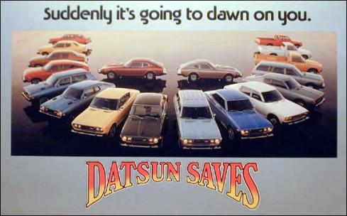 Datsun Saves ad