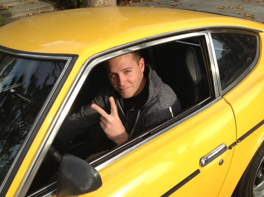 Brian and his yellow Z - Daily Datsun