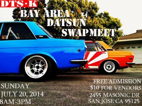 San Jose Datsun Swap meet @ Masonic Dr.