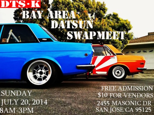 San Jose Datsun Swap meet @ Masonic Dr.